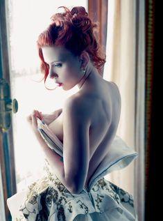 Сексуальная Скарлетт Йоханссон в журнале Vanity Fair фото #1