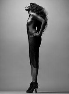 Сексуальная Наоми Кэмпбелл в журнале i-D фото #2