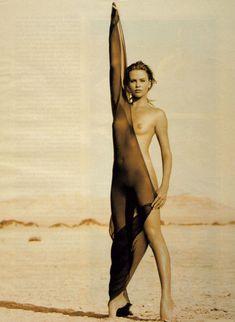 Полностью голая Шарлиз Терон в журнале Playboy фото #23