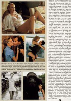 Полностью голая Шарлиз Терон в журнале Playboy фото #26