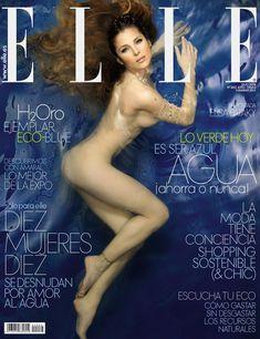 Эльза Патаки разделась для журнала Elle фото #1