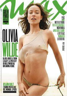 Сексапильная Оливия Уайлд в журнале Max фото #1