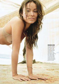 Сексапильная Оливия Уайлд в журнале Max фото #2