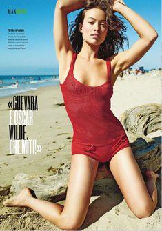 Сексапильная Оливия Уайлд в журнале Max фото #3
