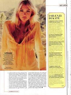 Соблазнительная Кейт Аптон в журнале GQ фото #5