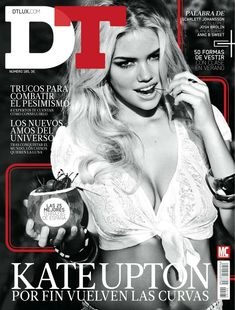 Секси Кейт Аптон в журнале DT фото #1