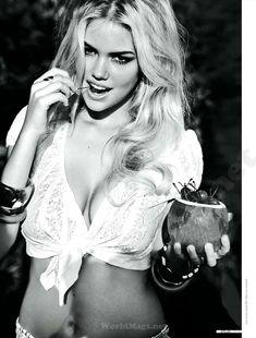Секси Кейт Аптон в журнале DT фото #2