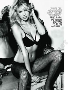 Секси Кейт Аптон в журнале DT фото #5