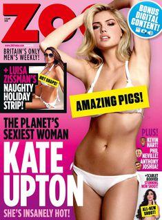 Сексуальная красотка Кейт Аптон в журнале ZOO фото #1