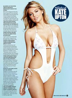Сексуальная красотка Кейт Аптон в журнале ZOO фото #3