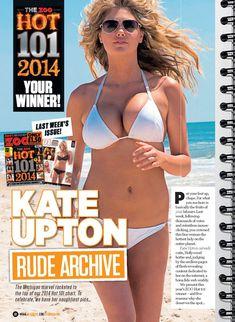 Возбуждающая Кейт Аптон в журнале ZOO фото #2