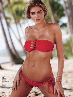 Кейт Аптон в разных купальниках для журнала Sports Illustrated фото #6