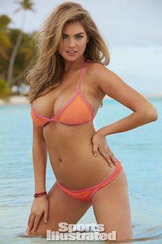 Соблазнительная Кейт Аптон в бикини для Sports Illustrated фото #12