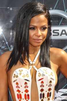 Оголенная грудь Кристины Милиан на премии BET Awards фото #2