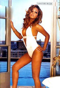 Эротичная Кристина Милиан в журнале FHM фото #5