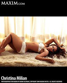 Заманчивая Кристина Милиан в журнале Maxim фото #8