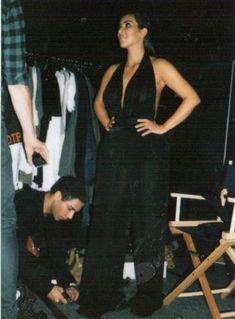 Обнаженная Ким Кардашьян на фото со съемок для модных домов и журналов фото #1