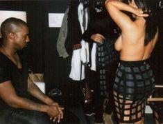 Обнаженная Ким Кардашьян на фото со съемок для модных домов и журналов фото #3
