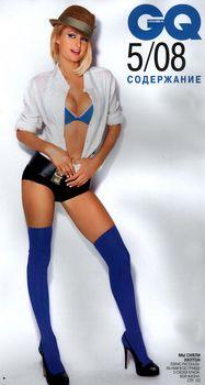 Пэрис Хилтон в откровенной фотосессии для журнала GQ фото #2