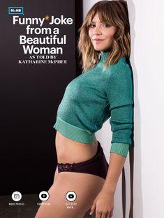Кэтрин МакФи в эротической фотосессии для журнале Esquire, США, Ноябрь 2015 фото #4
