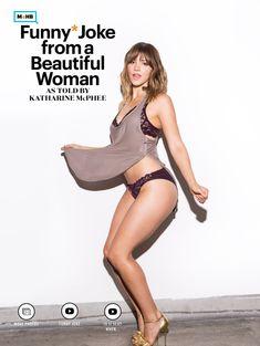 Кэтрин МакФи в эротической фотосессии для журнале Esquire, США, Ноябрь 2015 фото #6