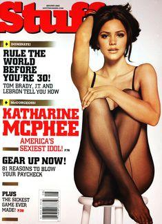 Сексуальная Кэтрин МакФи в журнале Stuff фото #1