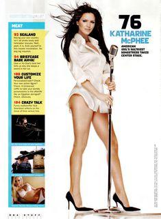 Сексуальная Кэтрин МакФи в журнале Stuff фото #3