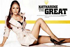 Сексуальная Кэтрин МакФи в журнале Stuff фото #5