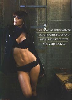 Страстная Николь Шерзингер в журнале FHM фото #4