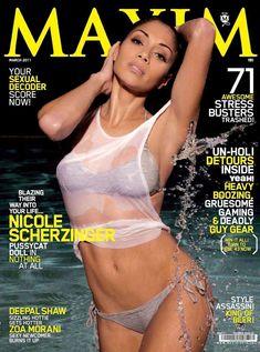 Николь Шерзингер разделась для журнала Maxim фото #1