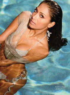 Николь Шерзингер разделась для журнала Maxim фото #5
