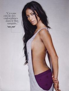 Николь Шерзингер без бюстгальтера в журнале FHM фото #5