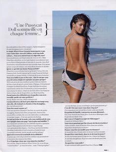 Николь Шерзингер без бюстгальтера в журнале FHM фото #7