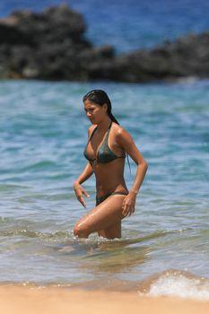 Сексуальная Николь Шерзингер на пляже в Гавайях фото #3