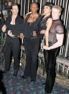 Засвет Николь Шерзингер на мюзикле «Чикаго» фото #2