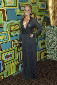 Хайден Панеттьери в прозрачном платье на вечеринке после «Золотого глобуса» фото #7