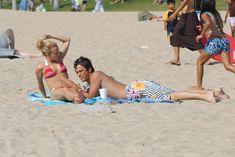 Хайден Панеттьери отдыхает на пляже фото #10