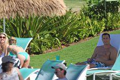 Попка Хайден Панеттьери на пляже в Гавайях фото #4