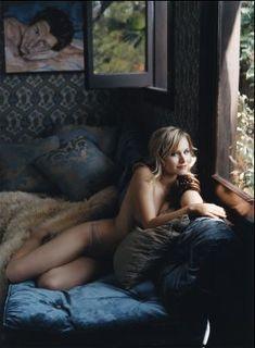 Эротичная Кристен Белл в журнале Jane фото #3