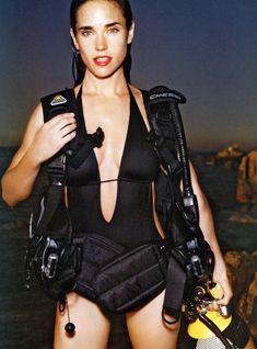 Секси Дженнифер Коннелли в журнале Vogue фото #1