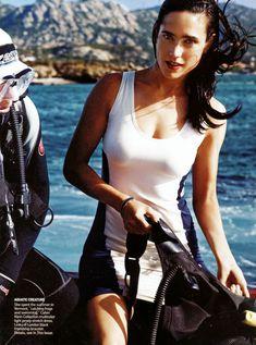 Секси Дженнифер Коннелли в журнале Vogue фото #2
