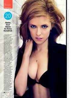 Секси Анна Кендрик для журнала GQ фото #1