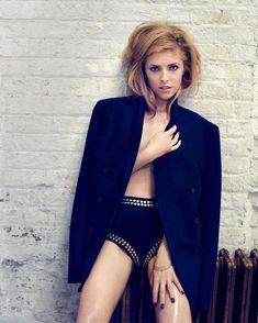 Секси Анна Кендрик для журнала GQ фото #2