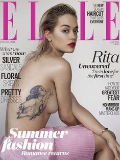 Эротичная Рита Ора в журнале Elle фото #1