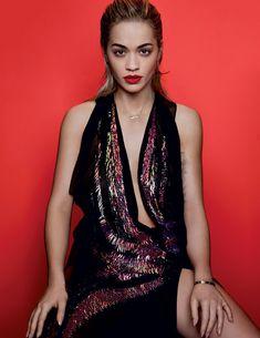 Эротичная Рита Ора в журнале Elle фото #5