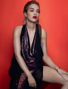 Эротичная Рита Ора в журнале Elle фото #6