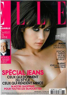 Заманчивая красотка Ольга Куриленко в журнале Elle, Франция, Октябрь 2008 фото #1