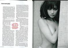 Заманчивая красотка Ольга Куриленко в журнале Elle, Франция, Октябрь 2008 фото #3