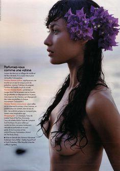 Голая грудь Ольги Куриленко в журнале Elle фото #4
