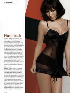 Ольга Куриленко в сексуальном белье для журнала FHM, Франция, Ноябрь 2008 фото #1